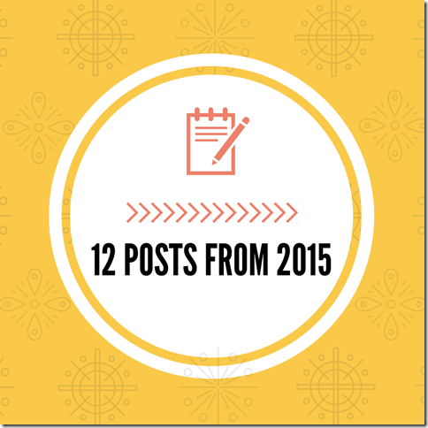 12 Posts from 2015