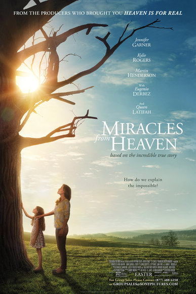 Miracles from Heaven in TheatersToday