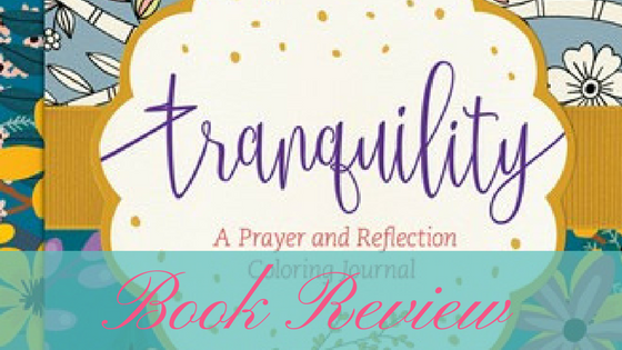 Tranquility: A Prayer and Reflection Journal review