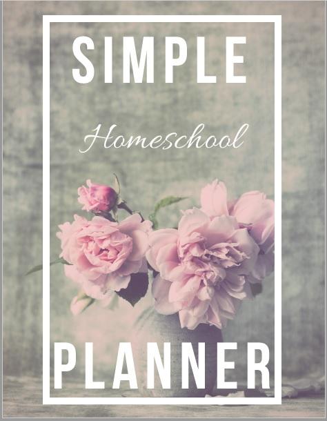 The Simple HomeschoolPlanner
